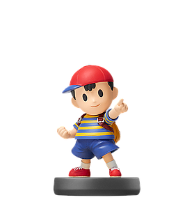Nintendo Super Smash Bros. Amiibo Mini Figure: Ness