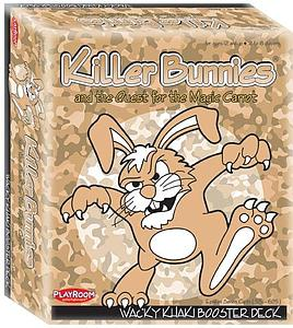 Killer Bunnies & the Quest for the Magic Carrot: Wacky Khaki Booster Deck