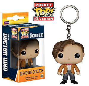 Pop! Pocket Keychain Doctor Who Vinyl Figure Eleventh Doctor