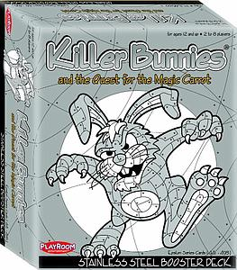 Killer Bunnies & the Quest for the Magic Carrot: Stainless Steel Booster Deck