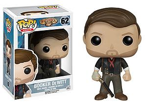 Pop! Games Bioshock Vinyl Figure Booker DeWitt (With Shotgun) #62 (Vaulted)