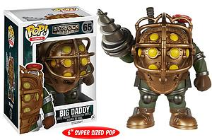 Pop! Games Bioshock Vinyl Figure Big Daddy #65 (Vaulted)