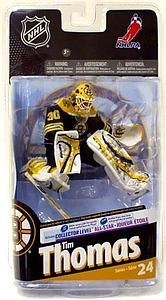 NHL Sportspicks Series 24 Tim Thomas (Boston Bruins) Black Jersey