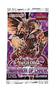 YuGiOh! Trading Card Game Dimension of Chaos Booster Pack