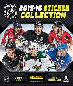 2015-16 NHL Hockey Sticker Album