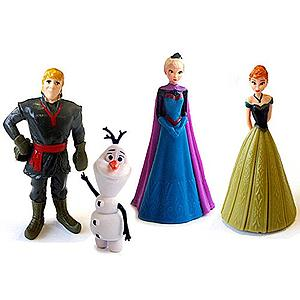 Disney's Frozen Figurines 4-Pack