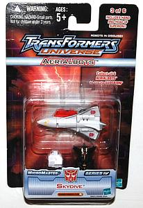 Transformers Universe - Micromaster Series 4 - Aerialbolts Skydive