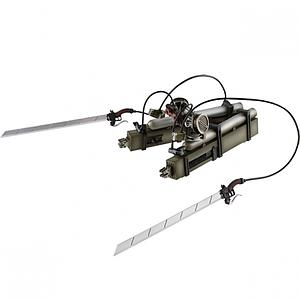 Attack on Titan Master Stars Piece Eren's 3D Maneuver Gear Weapon Figure