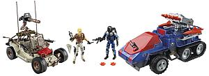G.I. Joe Desert Duel Vehicles Box Set withs - Exclusive
