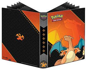 Pokemon 9-Pocket Pro-Binder: Charizard