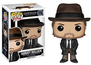 Pop! Heroes Gotham Vinyl Figure Harvey Bullock #76