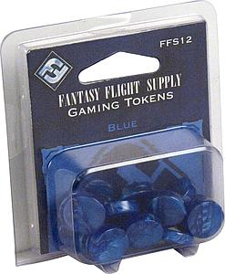 Game Tokens Blue