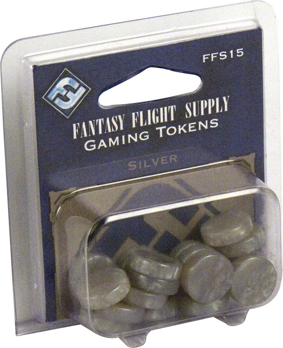 Game Tokens Silver