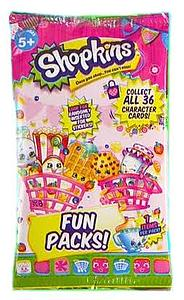 Shopkins Trading Card Fun Pack