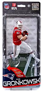 NFL Sportspicks Series 36 Rob Gronkowski (New England Patriots) Gold Collector Level