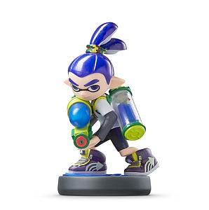 Nintendo Super Smash Bros. Amiibo Mini Figure: Inkling Boy