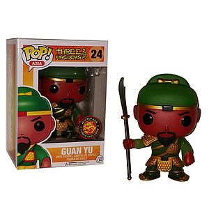 Pop! Asia Three Kingdoms Vinyl Figure Guan Yu #24 Exclusive