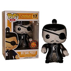 Pop! Asia Shaolin Legends Vinyl Figure Monochrome Wu Tang Priest #17 Exclusive