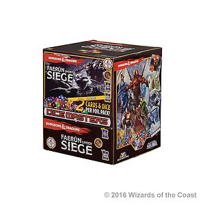 Dungeons & Dragons Dice Masters: Faerun Under Siege Gravity Feed Box (90 Packs)