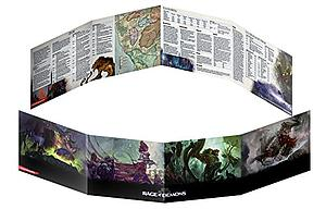 Dungeons & Dragons Rage of Demons: DM Screen
