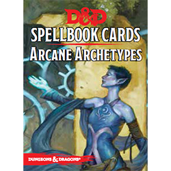 Dungeons & Dragons Spellbook Cards: Arcane Archetype
