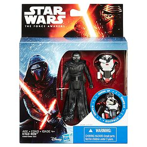"Star Wars The Force Awakens Snow Mission Armor Kylo Ren 3.75"" Figure"