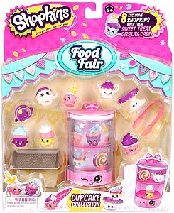 Shopkins Season 3 Figure: Food Fair Cupcake Collection