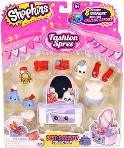 Shopkins Season 3 Figure: Fashion Spree Best Dressed Collection