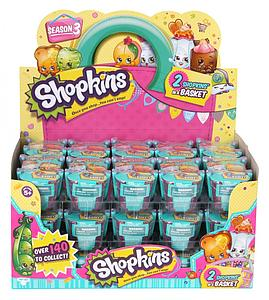 Shopkins Season 3 2-Pack Mini Figures Shopping Basket Box (30 Baskets)