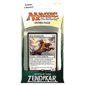 Magic the Gathering: Battle for Zendikar - Intro Deck: Rallying Cry
