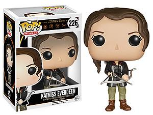 Pop! Movies The Hunger Games Vinyl Figure Katniss Everdeen #226 (Vaulted)