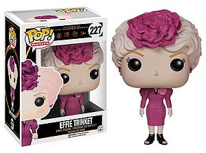 Pop! Movies The Hunger Games Vinyl Figure Effie Trinket #227 (Vaulted)
