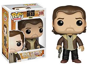 Pop! Television The Walking Dead Vinyl Figure Rick Grimes (Season 5) #306