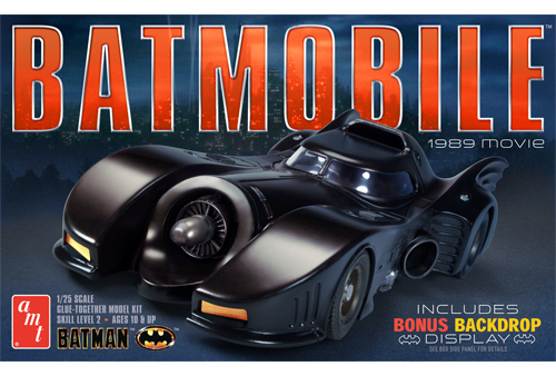 Batman 1/25 Model Kit Batmobile 1989