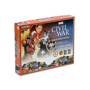 Marvel Dice Masters Civil War Collector's Box