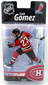 NHL Sportspicks Series 25 Scott Gomez (New Jersey Devils) Red Jersey Variant