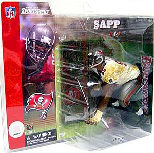 NFL Sportspicks Series 1: Warren Sapp White Variant (Tampa Bay Buccaneers)