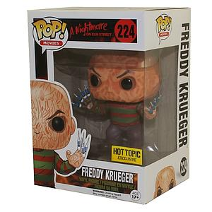 Pop! Movies A Nightmare on Elm Street Vinyl Figure Freddy Krueger with Syringe Fingers #224 Hot Topic Exclusive