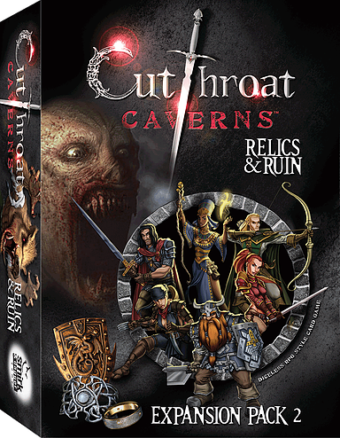 Cutthroat Caverns: Relics & Ruins Expansion Pack 2