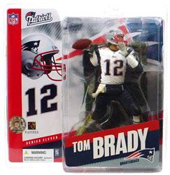 NFL Sportspicks Series 11: Tom Brady White Jersey Variant (New England Patriots)