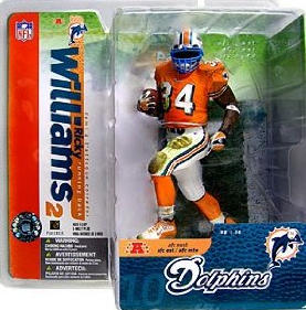 NFL Sportspicks Series 10: Ricky Williams Orange Jersey Variant (Miami Dolphins)