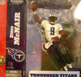 NFL Sportspicks Series 8: Steve McNair White Jersey Variant (Tennessee Titans)