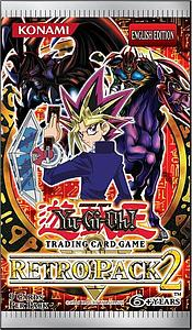 YuGiOh Trading Card Game Retro Pack 2: Booster Pack