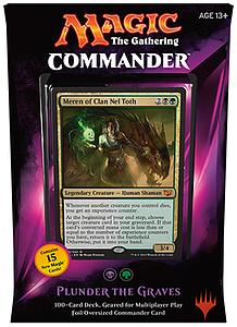 Magic the Gathering: Commander 2015 - Plunder the Graves Deck