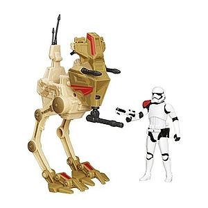 Star Wars The Force Awakens Desert: Assault Walker with First Order Stormtrooper Officer - Entertainment Earth Exclusive