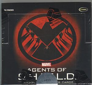 Rittenhouse Marvel Agents of S.H.I.E.L.D Season 2 Trading Cards: Booster Box (24 Packs)