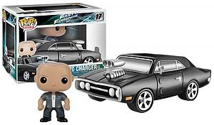 Pop! Rides Movies Fast & Furious Vinyl Rides Figure 1970 Dodge Charger with Dominic #17 (Retired)