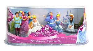 Disney Princess 6 Pieces Cinderella Figurine Set