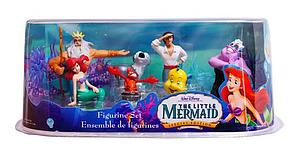 Disney Princess 7 Pieces The Little Mermaid (Ariel) Figurine Set