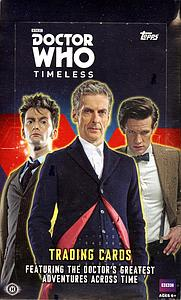 2016 Doctor Who Timeless Trading Cards Booster Box